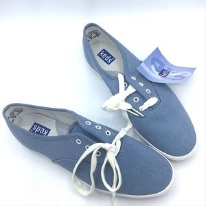 Keds Vintage New Blue Sneakers 7.5 Lace Up Shoes